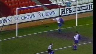 Young Ryan Giggs (WIlson), 1988 Granada Schools Cup.