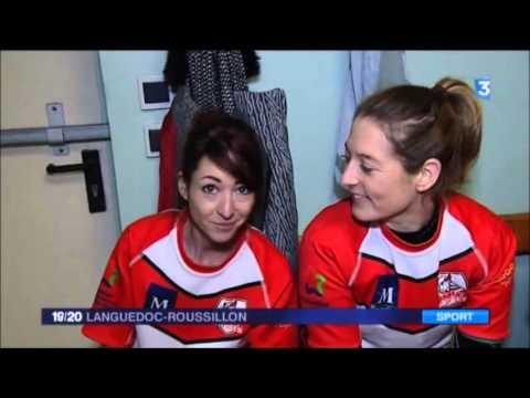 Reportage Rugby à XIII Féminin -  France 3 LR