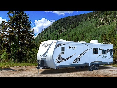 Quick Tour of the Arctic Fox Silver Fox 32A Travel Trailer