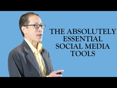The Absolutely Essential Social Media Tools - Wade Kwon [American Marketing Assn.]