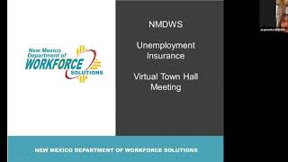 Unemployment Insurance Virtual Town Hall