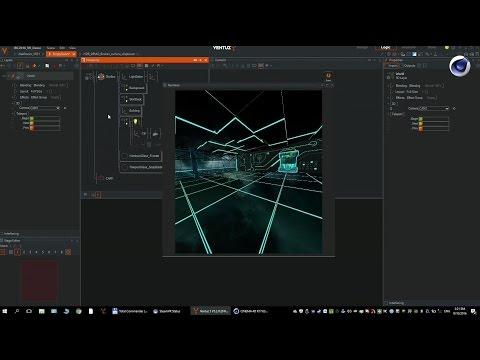 Ventuz and Cinema4D integration / Lukáš Koberna (Ventuz)