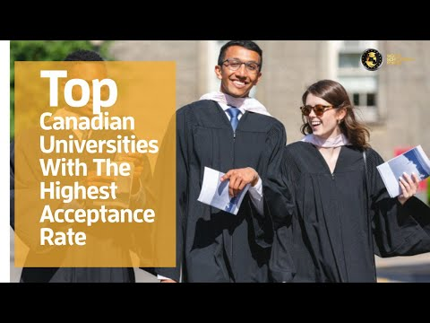 Top 5 Canadian Universities With The Highest Acceptance Rate