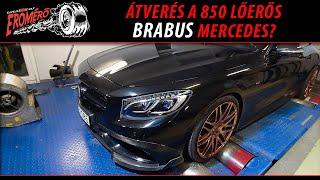 Totalcar Erőmérő: Átverés a 850 lóerős Brabus Mercedes?