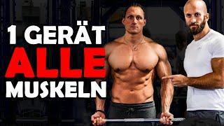 Mit einem Gerät ALLE Muskeln trainieren.