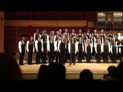 Heritage Christian Academy Calgary - Senior Choir 2012 - See Amid The Winter Snow