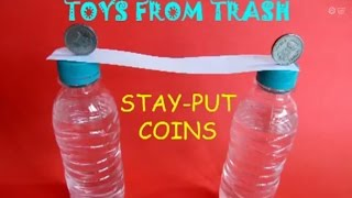 Stay Put Coins | Telugu | Simple Science Experiment