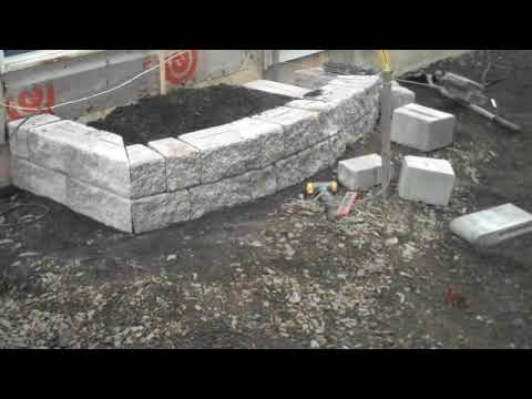 chris orser landscaping brick pavers and garden beds youtube