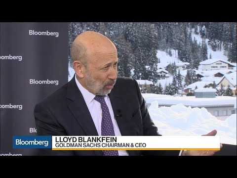 Blankfein Says Tax Reform Has Bought U.S. More in Line With World