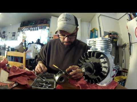 MINIBIKE engine assembly 5hp Briggs & Stratton Flathead