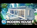 Minecraft 10 Minute Tour - Modern House 65