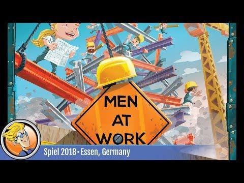Men At Work — game overview at SPIEL '18