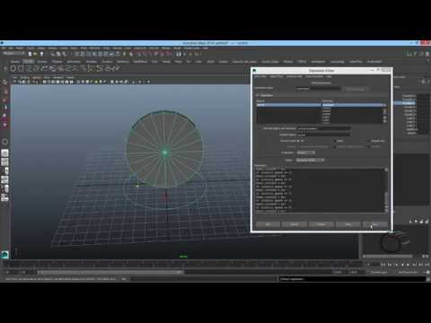Wheel automation Expression script with adjustable speed limit (Maya Wheel Rigging)