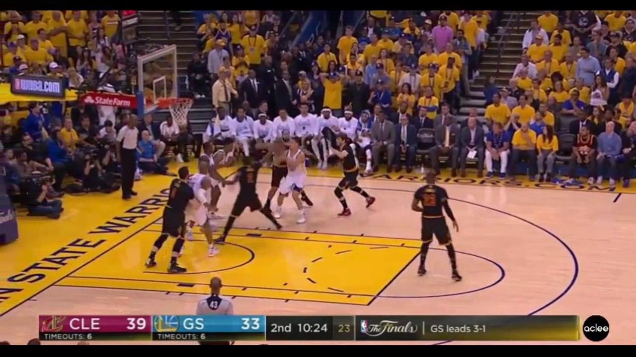 Lebron DUNKS ON KEVIN DURANT AGAIN GAME 5 KD FOULS NO CALL ...