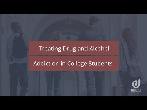 Treating Drug & Alcohol Addiction in College Students