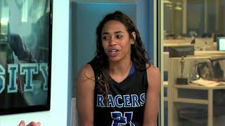 Varsity: Little All-City Player of the Year Aaliyah Endsley (2016-04-08)