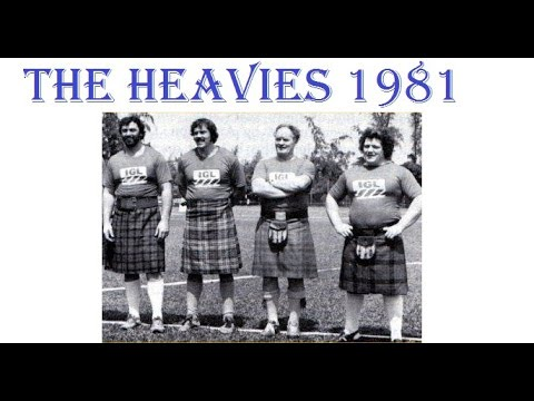 4 legendary Highland games athletes from the 80/90-ties: