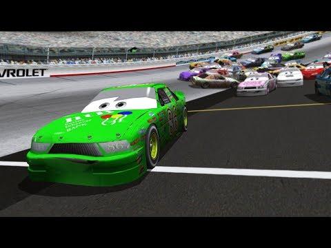 "Can I Recreate The Dinoco 400 ""Cars"" Crash? (Dinoco's All Mine!)   NR2003 LIVE STREAM EP220"