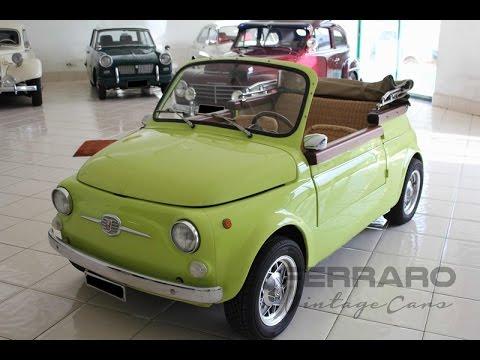 Fiat 500 Jolly Replica Sold