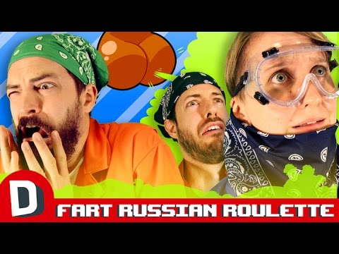 We Play Fart Spray Russian Roulette -LIVE!