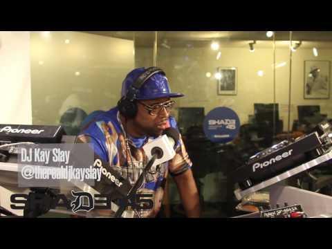 Dj Kayslay interviews Locksmith on Shade45