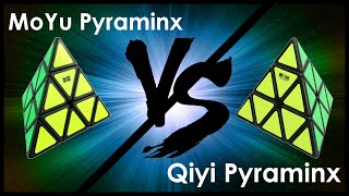 moyu vs qiyi pyraminx   comparison