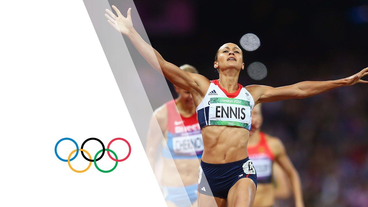 Jessica Ennis Seals Heptathlon Gold - London 2012 Olympics