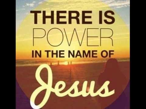 There is power in the name of Jesus. / Jeremiah Yocum