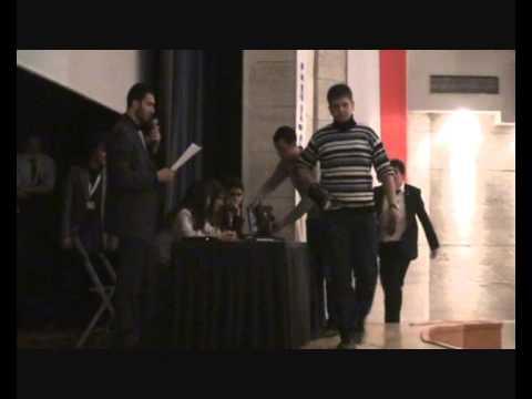 sumo robot 2012 odtü robot yarışması final karabük üniversitesi türkiye