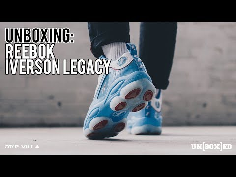 UNBOXED: REEBOK IVERSON LEGACY ALL STAR