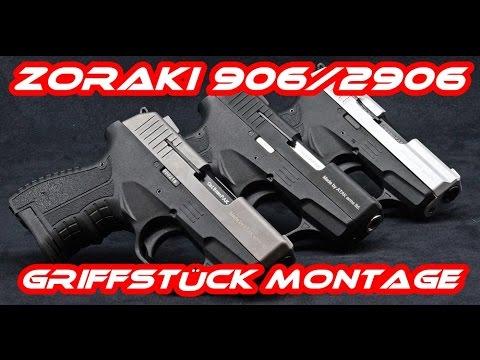Zoraki 906/2906 Griffstück Zusammenbauen/Montage