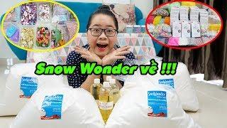 SNOW WONDER - Hương Liệu Mỹ | Nguyên Liệu Làm Slime Của Chị Cà Chua