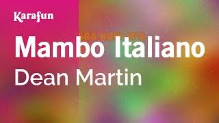Karaoke Mambo Italiano - Dean Martin *