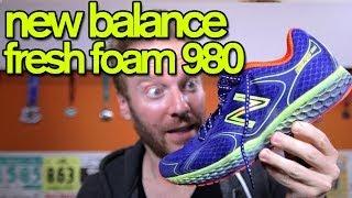 NEW BALANCE FRESH FOAM 980 REVIEW | The Ginger Runner