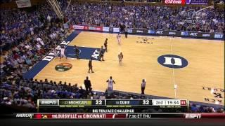 12/3/2013 Duke Blue Devils vs Michigan Wolverines