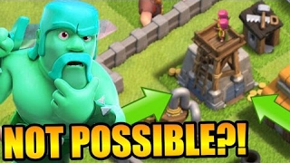 THIS SHOULDN'T BE POSSIBLE in Clash Of Clans! - *STACKED BUILDINGS ON TOP OF EACH OTHER?!*