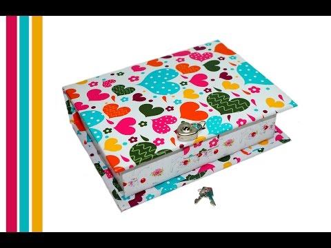 How to make secret box | DIY book box secret storage . Secret box making / Julia DIY