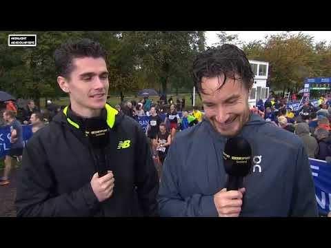 Callum Hawkins & Chris Thompson Interview - Great Scottish Run 2017 (HD)