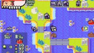 Advance Wars 2 - Mission 19: Sea of Hope 1/2