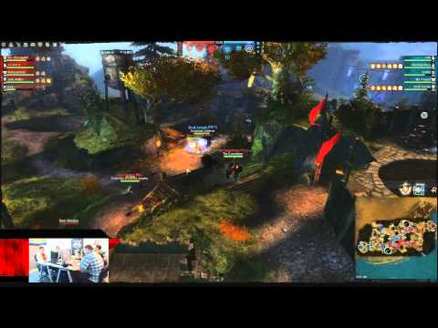 Guild Wars 2 - Stronghold PvP Public Beta: ArenaNet Devs vs. Twitch Streamers