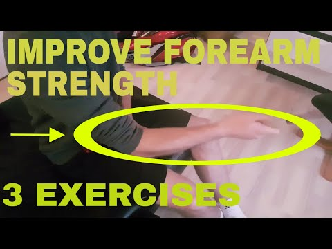 BADMINTON FITNESS #5 - 3 EXERCISES TO IMPROVE YOUR FOREARM STRENGTH