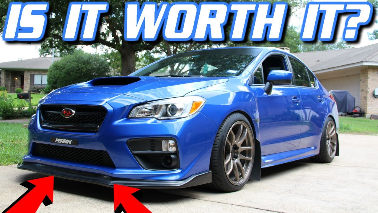 Unboxing And Installing The Cs Style Front Lip For 2017 Subaru Wrx Sti