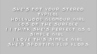 Avenue 52 - Simple Girl Lyrics YouTube Videos