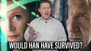 Han Solo Survives The Force Awakens If Lucasfilm Knew Carrie Fisher Would Be Unavailable