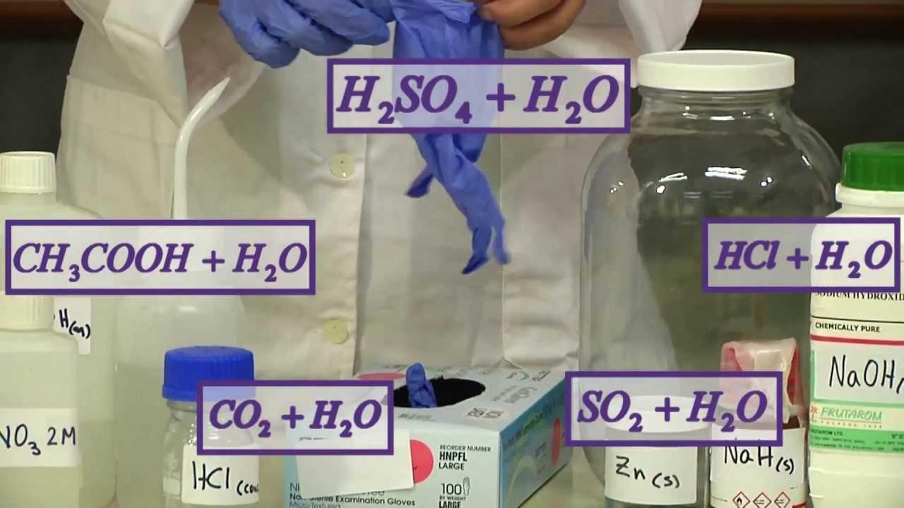 Making Acid Solutions יצירת תמיסות חומציות