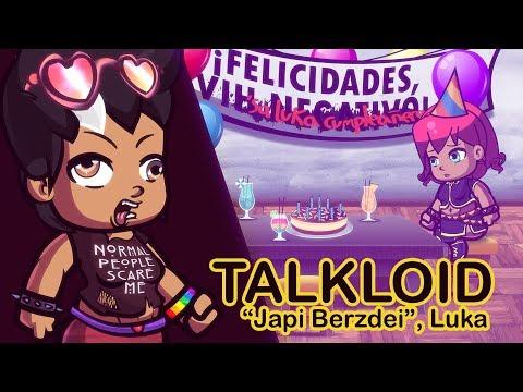 "🔴【Talkloid - Explicit】 ""Japi Berzdei"", Luka!  【Rin, Luka, Iroha, Maika, Clara】 (eng subs)"