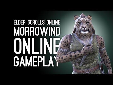 Elder Scrolls Online Morrowind Gameplay: Let's Play ESO Morrowind (Morrowind Online)