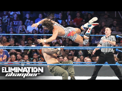 New Champions Crowned at WWE Elimination Chamber 2017