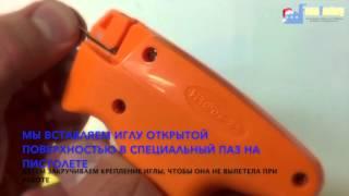 видео Аппликатор этикеток, этикетировщики, этикет-пистолет