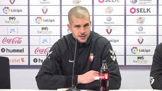 """Rubén: """"Si queremos dar un paso más tenemos que ir a ganar en Albacete"""""""